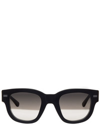 Acne Studios Black Frame Metal Sunglasses