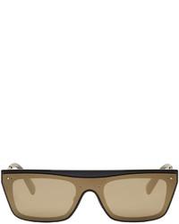 Valentino Black Glamgloss Sunglasses