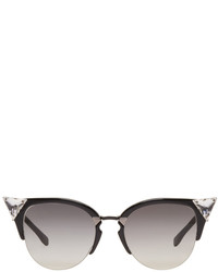 Fendi Black Iridia Sunglasses