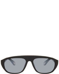 Ann Demeulemeester Black Linda Farrow Edition Scratched 1 Sunglasses