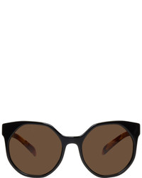 Prada Black Octagonal Sunglasses