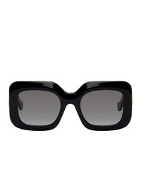 Loewe Black Oversized Square Sunglasses