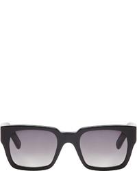 Marni Black Polished Square Sunglasses