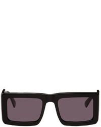 Marcelo Burlon County of Milan Black Retrosuperfuture Edition Templo Wings Sunglasses