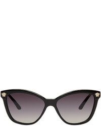 Versace Black Rock Icons Medusa Cat Eye Sunglasses