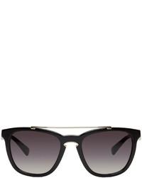 Valentino Black Rock Loop Sunglasses