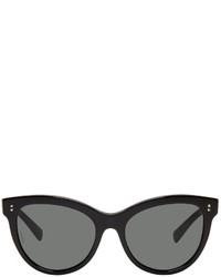 Valentino Black Rockstud Cat Eye Sunglasses