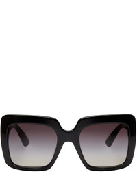 Dolce & Gabbana Black Square Sunglasses