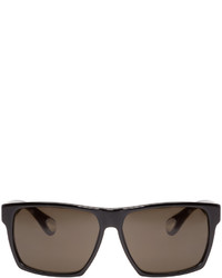 Ann Demeulemeester Black Square Sunglasses