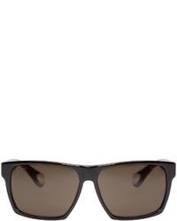 Ann Demeulemeester Black Square Sunglasses