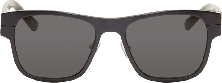3.1 Phillip Lim Black Tortoiseshell Sunglasses