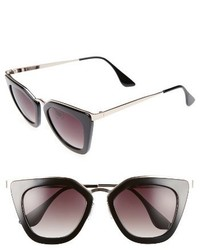 52mm Cat Eye Sunglasses Mauve