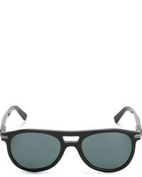 Brioni Round Frame Sunglasses