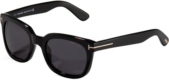 4eb4da2033d ... Tom Ford Campbell Plastic Sunglasses Black ...