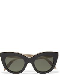 Victoria Beckham Cat Eye Acetate Sunglasses Black