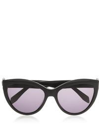 Alexander McQueen Cat Eye Acetate Sunglasses