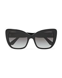 Dolce & Gabbana Cat Eye Acetate Sunglasses