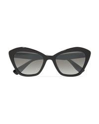 Miu Miu Cat Eye Acetate Sunglasses