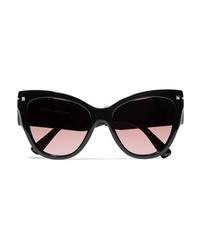 Valentino Cat Eye Acetate Sunglasses