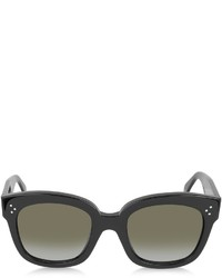 Celine Cline Cl41805s New Audrey Black Acetate Sunglasses