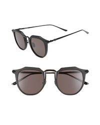 Valley Chateau 48mm Round Sunglasses
