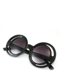ChicNova Vintage Cutout Concave Shape Sunglasses