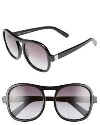 Chloé Chloe Marlow 56mm Gradient Lens Sunglasses Black