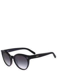Chloé Chloe Round Cat Eye Sunglasses