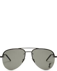 Saint Laurent Classic Aviator Metal Sunglasses