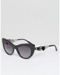 Dolce & Gabbana Classic Cat Eye Sunglasses