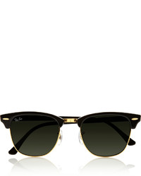 Ray-Ban Clubmaster Acetate Sunglasses Black