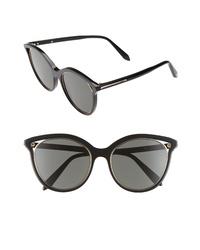 Victoria Beckham Cutaway Kitten 54mm Cat Eye Sunglasses