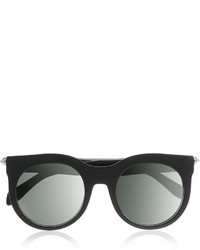 Alexander McQueen D Frame Studded Acetate Sunglasses