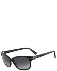 Diane von Furstenberg Emma Chain Link Detail Sunglasses