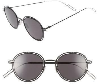 96c664452e ... Christian Dior Dior Homme 49mm Round Sunglasses