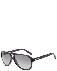 Armani Exchange Disco Aviator Sunglasses