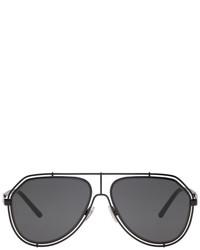 Dolce & Gabbana Dolce And Gabbana Black Aviator Sunglasses