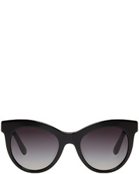 Dolce & Gabbana Dolce And Gabbana Black Cat Eye Sunglasses