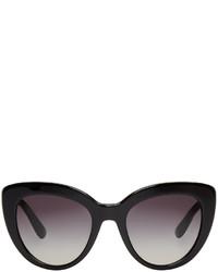 Dolce & Gabbana Dolce And Gabbana Black Cat Eye Sunglasses