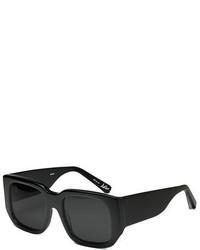 Elizabeth and James Adler Square Monochromatic Sunglasses