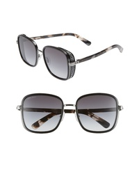 Jimmy Choo Elva 54mm Square Sunglasses