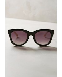 Anthropologie Etttwa Ett Twa Munin Sunglasses Black White One Size Eyewear