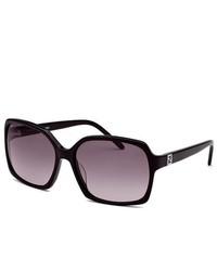 Fendi Rectangle Black Sunglasses