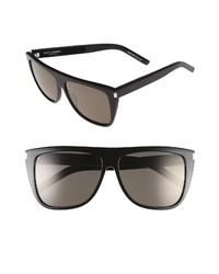 Saint Laurent Flattop 59mm Sunglasses