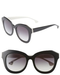 Alice + Olivia Frank 52mm Geometric Sunglasses