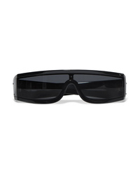 Valentino Garavani Visor D Frame Printed Acetate Sunglasses