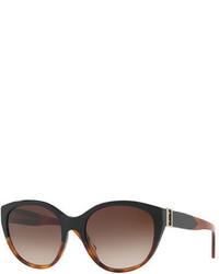 Burberry Gradient Cat Eye Buckle Sunglasses