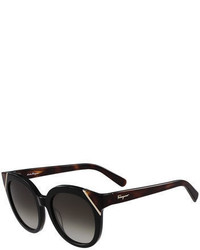 Salvatore Ferragamo Gradient Cat Eye Sunglasses