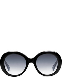 Gucci Oval Frame Acetate Sunglasses