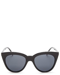 Le Specs Halfmoon Magic Cat Eye Sunglasses 53mm